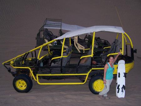 El buggy en cuestión