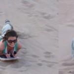 Panzasurf en las dunas