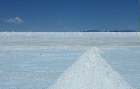 La llanura de sal más grande del mundo