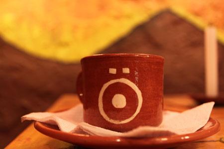 Café orgánico en el Etnö