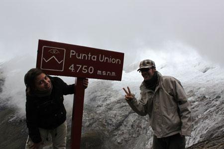 Llegamos a Punta Unión