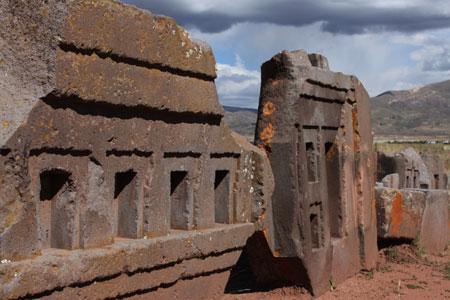Restos arqueológicos de Puma Punku