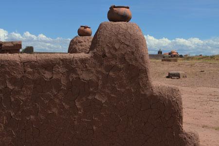 Espacio ceremonial en Tiahuanaco