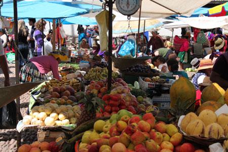 Mercado en Pisaq