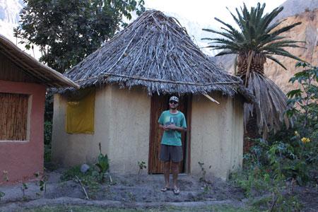Cabaña en el oasis del Colca