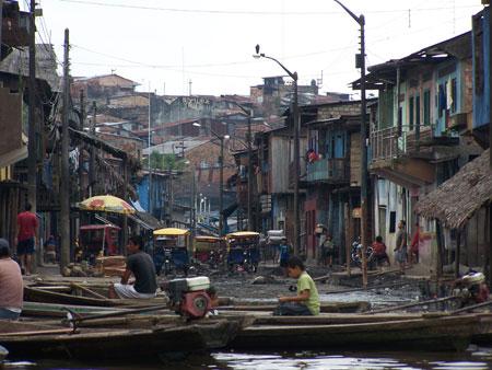 Las calles de Belén se convierten en canales