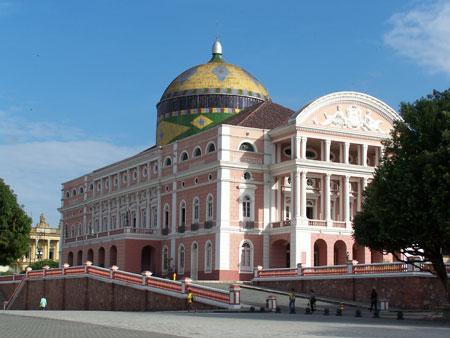 Teatro Amazonas en Manaos