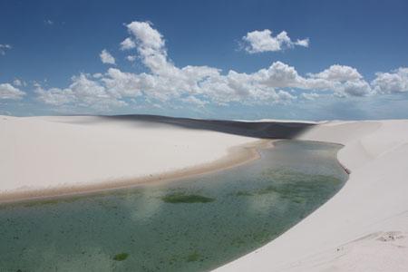 Lagunas en Llençois Maranhenses