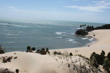 Playa al norte de Natal