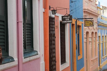 Casas de colores en Olinda