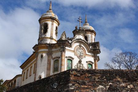 Iglesia de San Francisco en Ouro Preto