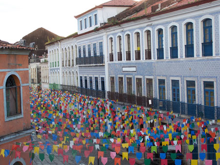 De fiesta en Sao Luis