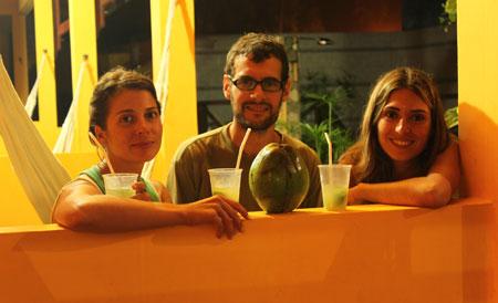 Los tres del coco