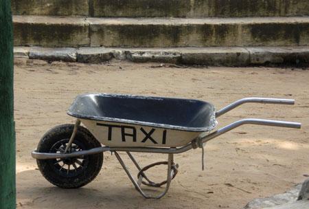 Taxis (ecológicos) en Morro