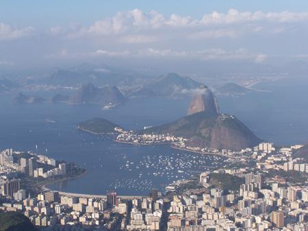 Rio vista desde el Cristo de Corcovado