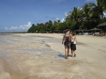 Paseos por las playas de Pipa (Brasil)